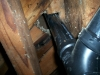 air-leakage-around-pipe