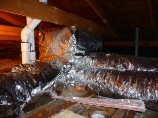 Proper duct installation