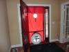 blower door measures building leakage