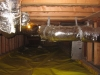 Crawlspace sized, sealed and insulated duct work