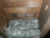 Cross section to show Floor Insulation is making good contact