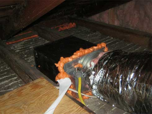 A ... : exhaust fan in attic  - Aeropaca.Org
