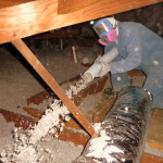 Blown in Cellulose Stabilized Attic Insulation