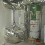 Combined Hydronic Air Handler Heating System