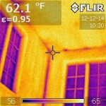 Infrared of a Single Paned Window