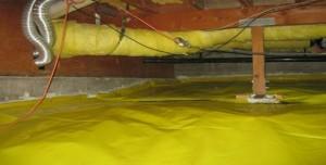 Crawlspace Vapor Barrier