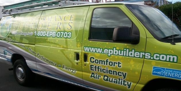 Eco Performance Builders Van