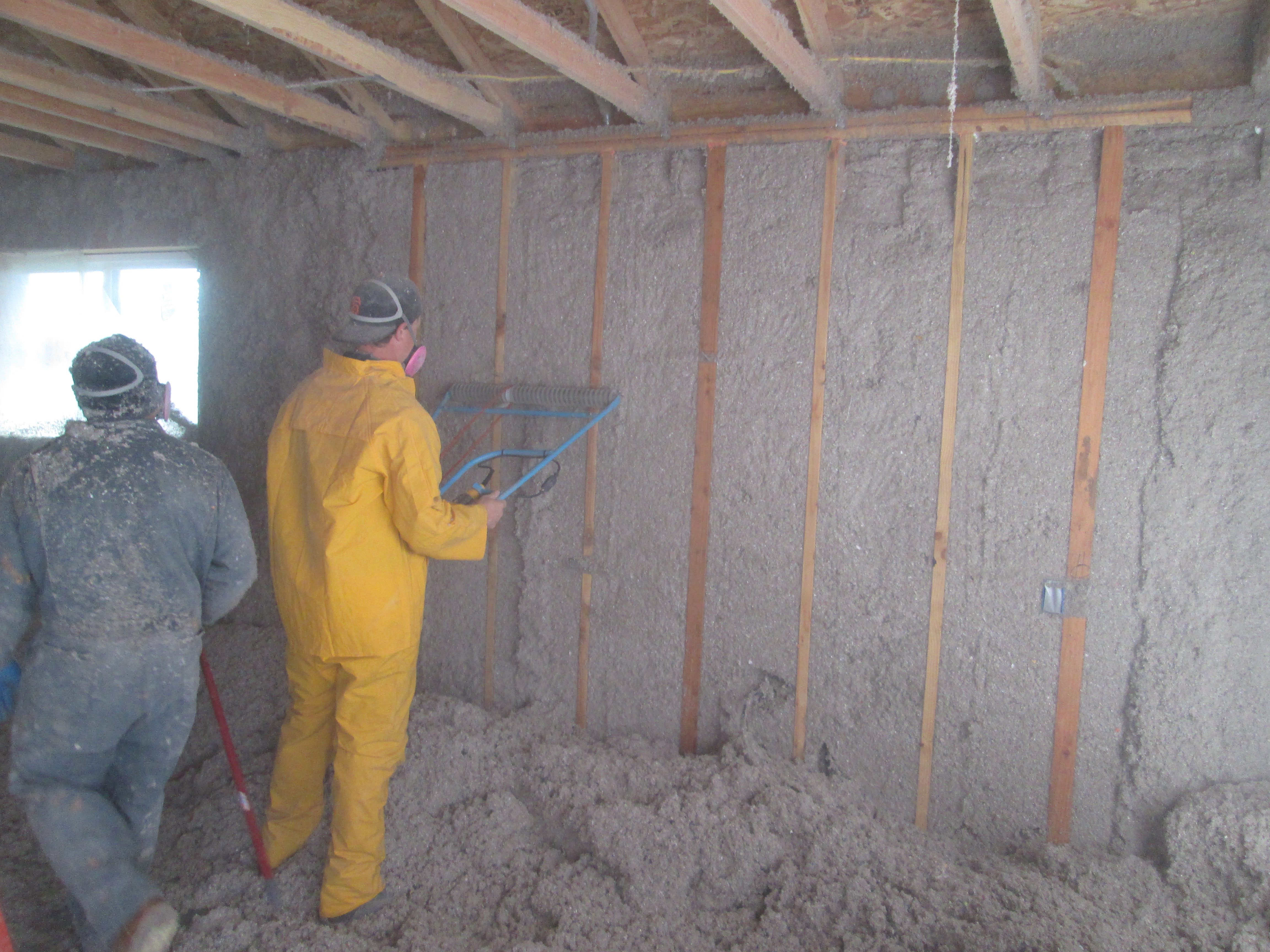 Wall Insulation Installation Video Net Zero Energy Eco