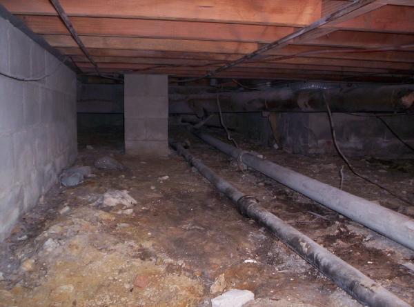 Benefits of crawl space encapsulation sealing eco for Building a crawl space