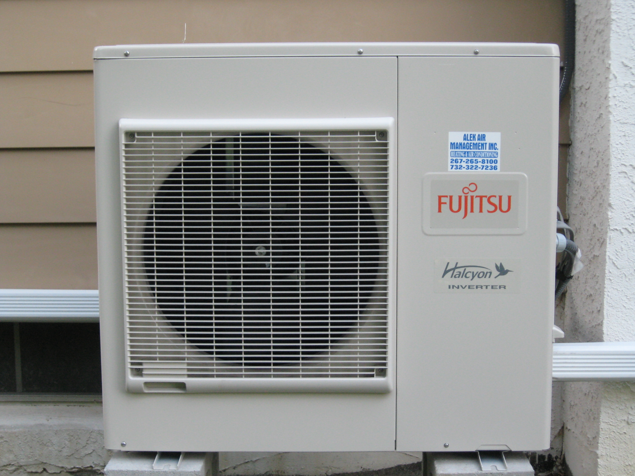 Average cost of new furnace and ac for home - Fujitsu Minisplit Outdoor Unit